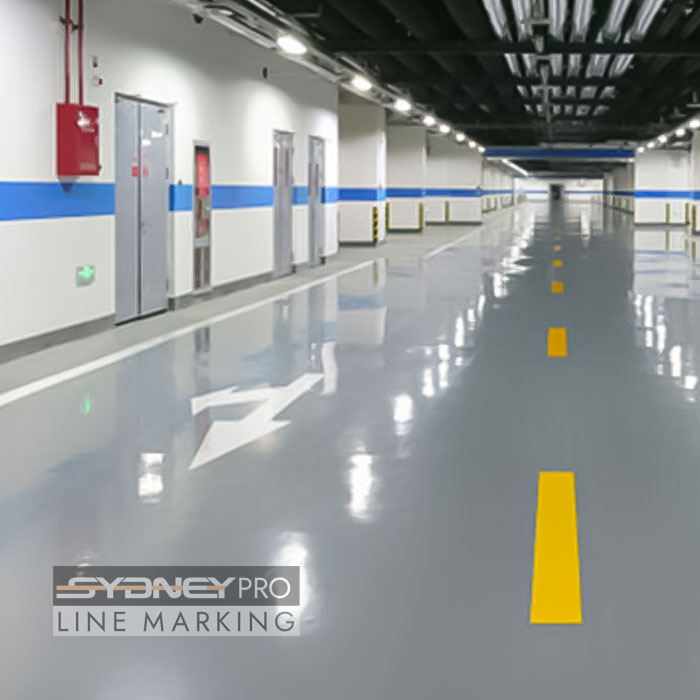 Sydney pro line marking - Factory Floors and warehouse floor Marking Line Marking Services in Sydney