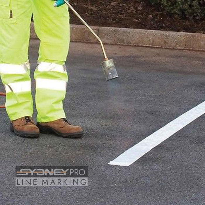 Sydney pro line marking - Thermoplastic Line Marking Services in Sydney